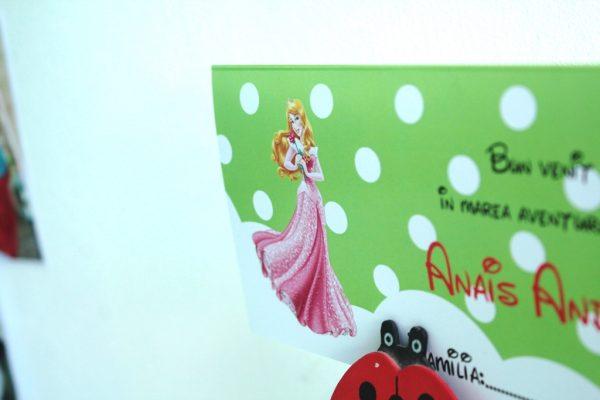 Plicuri de bani pentru botez cu Printesa Aurora 2