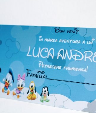 Plic de bani cu Mickey Mouse model Thomas