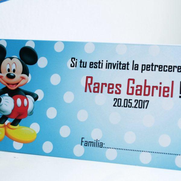 Plic de bani pentru baieti cu Mickey Mouse