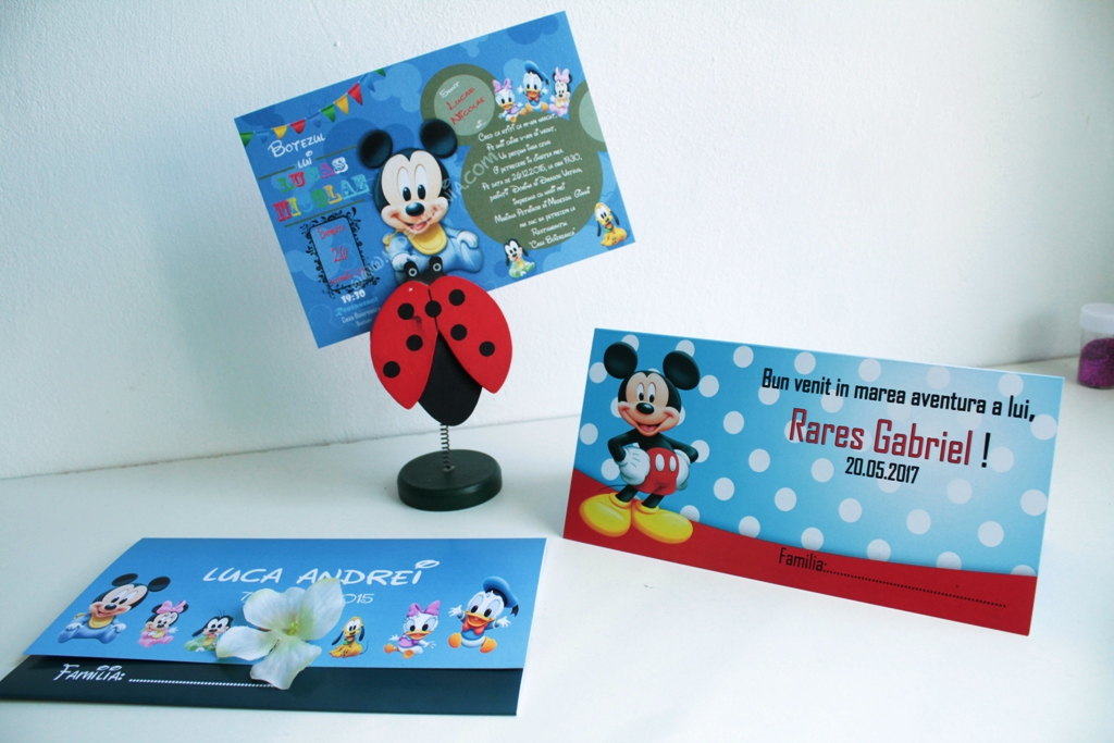 Plic de bani cu Mickey Mouse model Rares