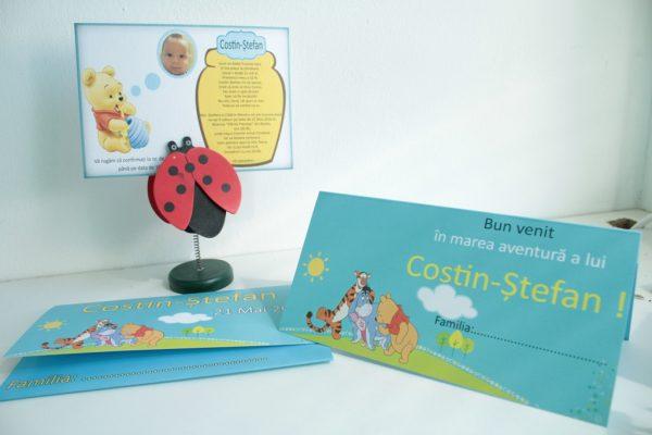 Invitatii pentru cumatrie sau botez cu Winnie the Pooh 4