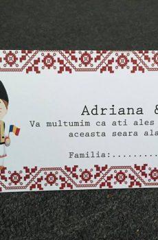 Plic de bani nunta traditional romanesc