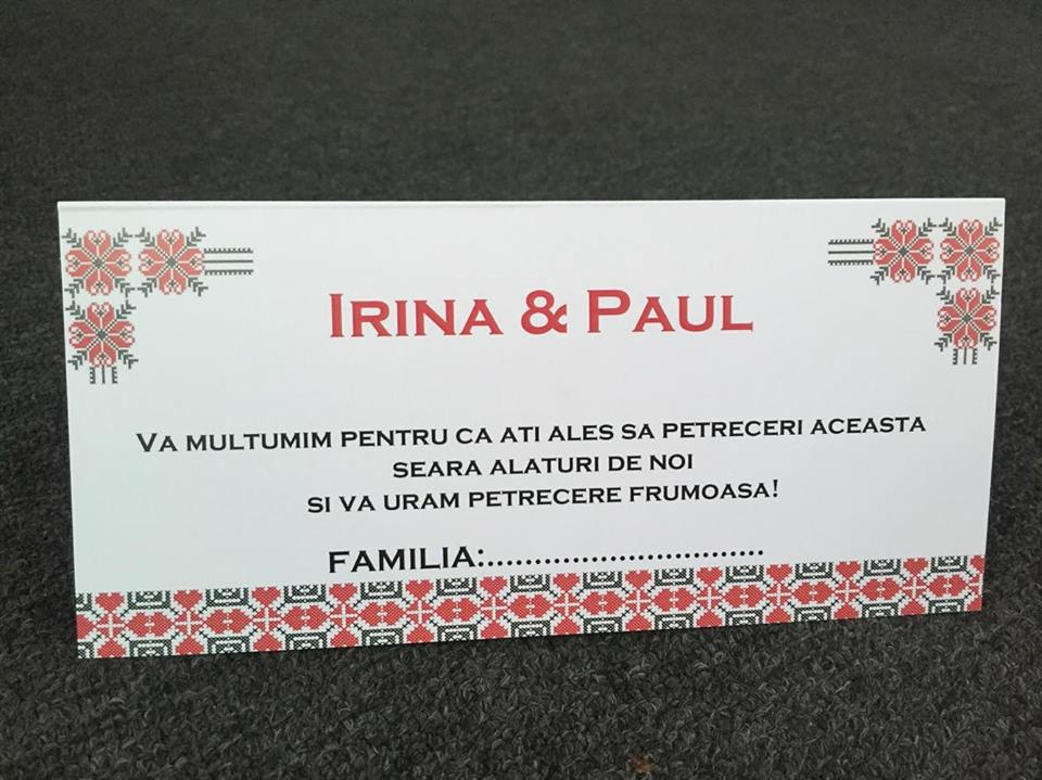 Plic de bani pentru nunta autentic romanesc