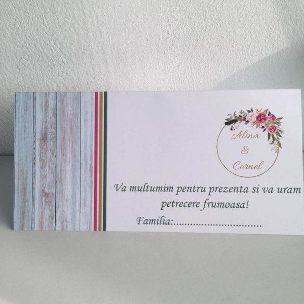 Plic de bani pentru nunta model Coronita