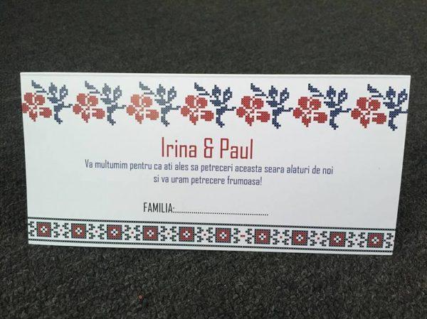 Plic de bani traditional romanesc pentru nunta
