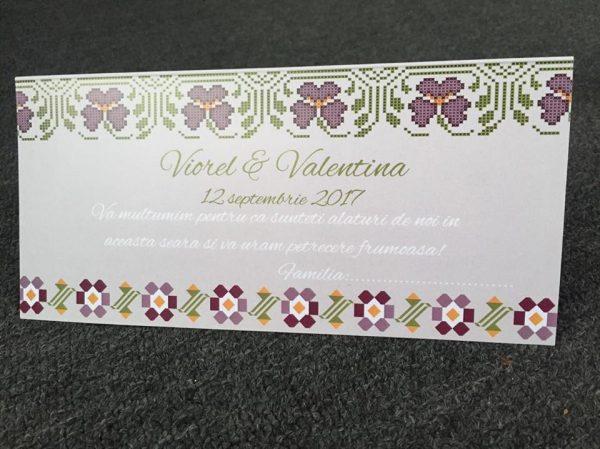 Plicuri de bani pentru nunta model Valentina 3