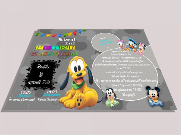 invitatie goofy test site