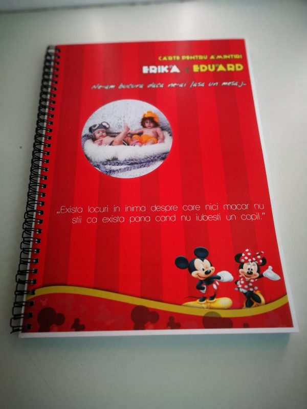 carte pentru amintiri botez mickey 3