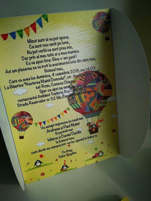 invitatii botez baloane aer cald 3