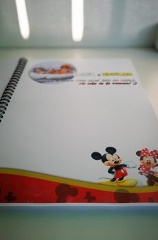 carte pentru amintiri botez mickey