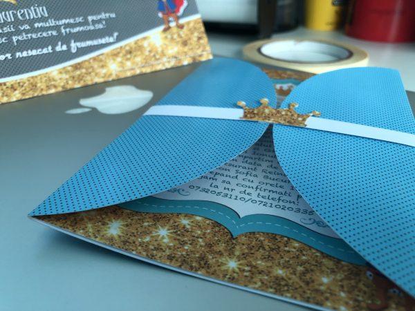 invitatii meniuri si plicuri de bani cu tematica micul print