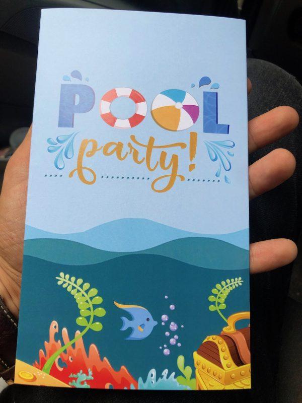 invitatie botez piscina
