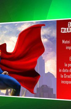 Invitatie petreceri copii superman